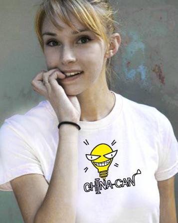 08款最新奥运罐头T恤 - yoyo -   ︶ε╰