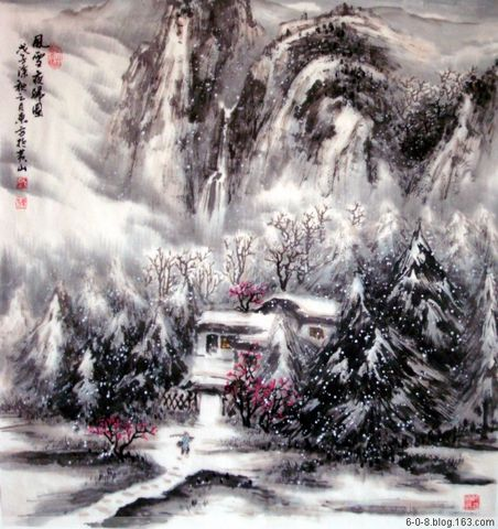 【引用】刘东方(翰墨也抒情)-怡情四季 - cxy5818(乡音难改) - cxy5818 (乡音难改)