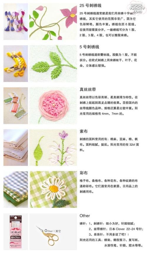 刺绣教程 - maizi0410 - 麦田守望者