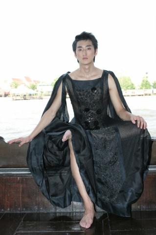 男模薛朕 湄公河真空演绎时装 - 浮生 - 来自中国北方的情人