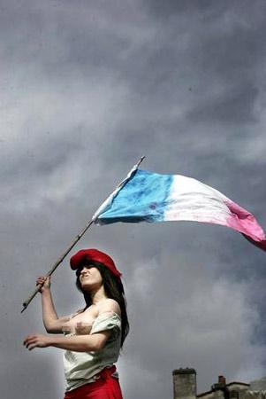 法国大罢工:自由指引人民 - Jack - 莎乐美之吻—皓紫