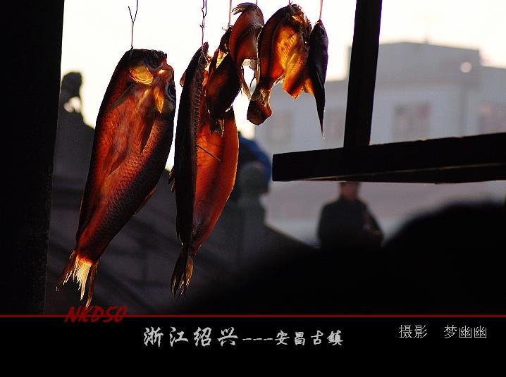 【原创】古镇安昌腊月风情(四)腊味风景线 - 梦幽幽 - 梦幽幽原创摄影工作室