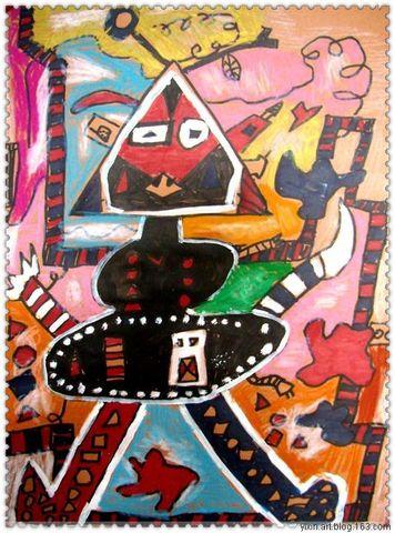 机器大时代 - 艺馨童画 - 艺馨童画