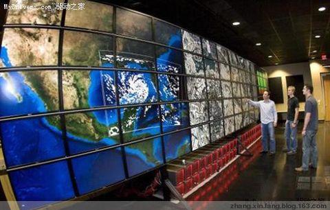 拼接显示墙分辨率之王:38400×8000 - 张新房 - 张新房的博客-安防、消防、楼控、弱电
