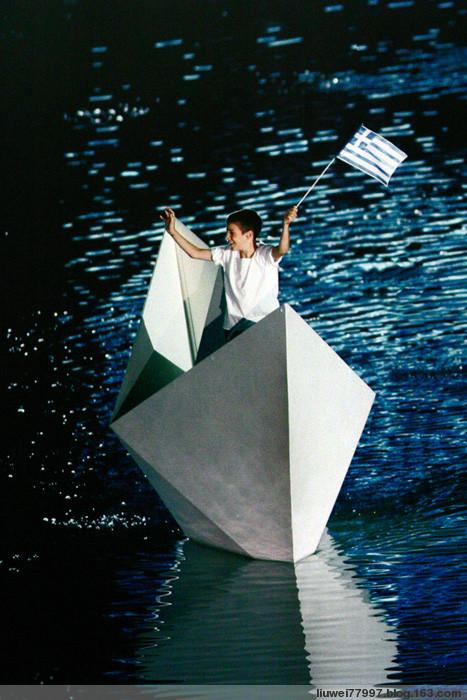 2004年希腊奥林匹克运动会开幕式(二) - 刘炜大老虎 - liuwei77997的博客