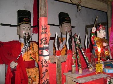 乡村寺庙的神灵各有各的来历 - 摩罗 - 摩罗的博客
