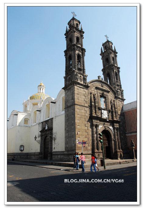墨西哥最美的教堂-圣多明各教堂 - Y哥。尘缘 - 心的漂泊