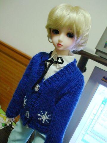 仔子的毛衣~ - 白玉狐 - 草莓样的味道