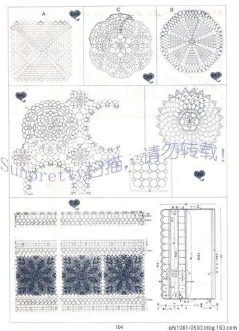家庭钩织新款收藏一 - 苹果园 - 苹果园的博客