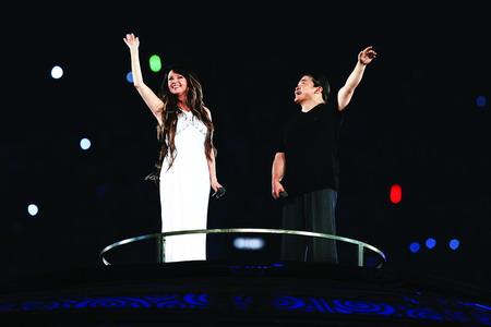"Sarah Brightman---放歌北京奥运的""月光女神"" - 外滩画报 - 外滩画报 的博客"