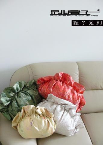 跳房子原创手工布艺班——饺子抱枕系列 - 跳房子 -