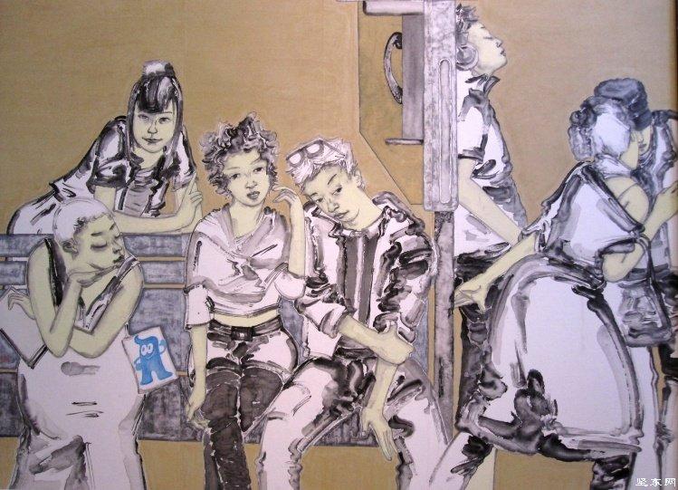 第十一届全国美展中国画展作品选图片