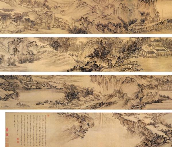 [转载]中国古代山水画欣赏三(清代)图片
