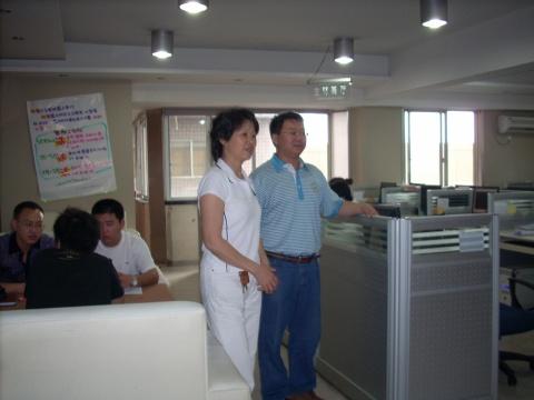 走访成都蓝太阳装饰公司 - 廖老师 - 成都市建筑装饰协会-86273832