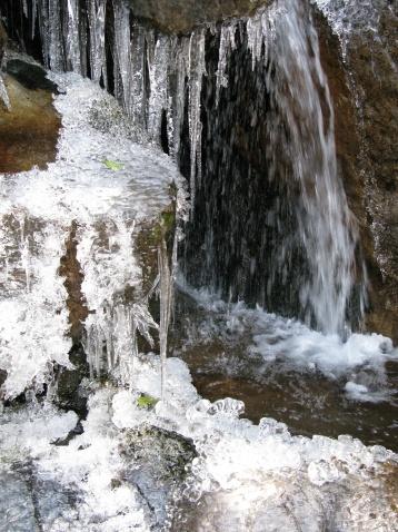 冰瀑(照片) - 江村一老头 - 江村一老头的茅草屋