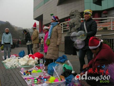告别07:感受疯狂圣诞节  没有上街的请进来●小贩篇(组图) - 视点阿东 - 视点阿东