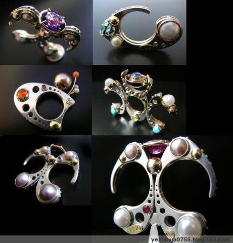加拿大珠宝设计师PINO DESIGN的珠宝首饰艺术 - 珠宝设计师 - 钻石梦工场
