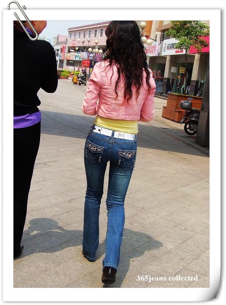 靓影美臀之身材超棒的紧身牛仔美女 - 源源 - djun.007 的博客