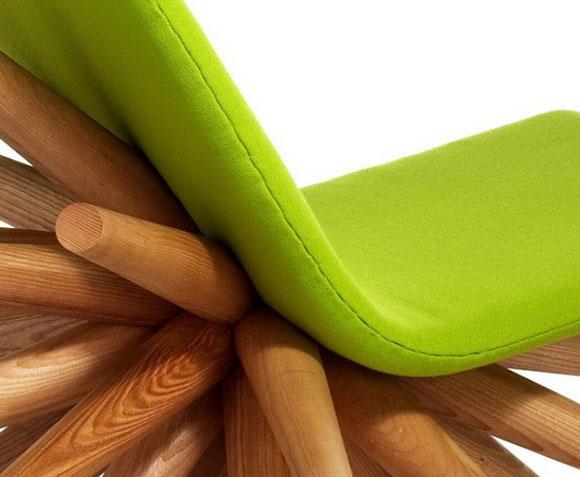 千脚椅:个性鲜明的椅子设计