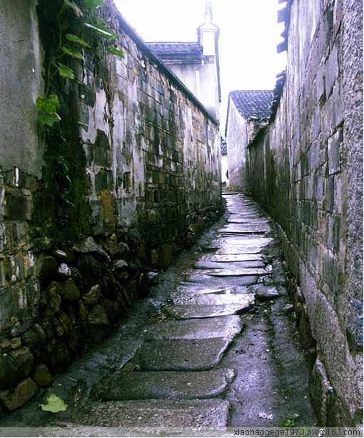 雨巷  - xiaohaogege1973 - 独上西楼