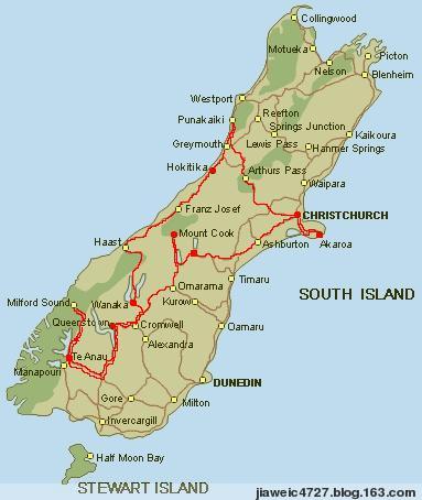 新西兰旅游准备篇--行程住宿 - 咖友 - 心中有路