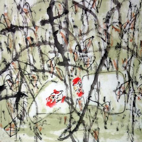 残缺的走失 ——赏路中汉先生作品 文/孙雪峰(中国青年评论家) - 苏文 - 中国当代美术家——路中汉