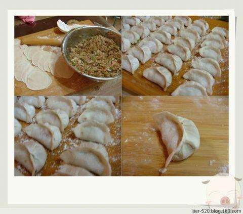 香菇白菜馅饺子 - 快乐的猪 - 一个小女人的幸福生活