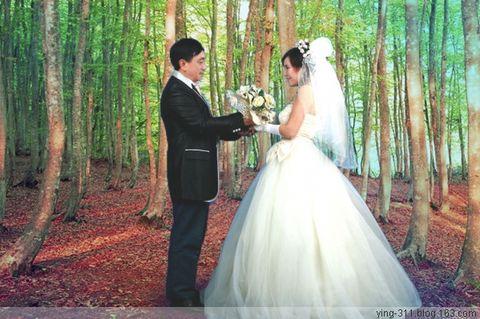 妈妈的婚纱照~~愿你们幸福~! - 樱 - 樱花小屋