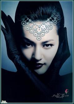 2007年10月16日自创,月亮女神;
