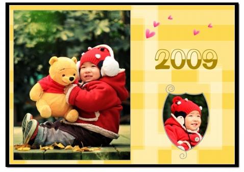 2009年日历出炉(图) - 童一 -  童一的世界 童一的梦想