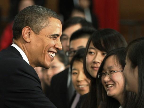 奥巴马在北京 - 大山的博客 - 大山的博客