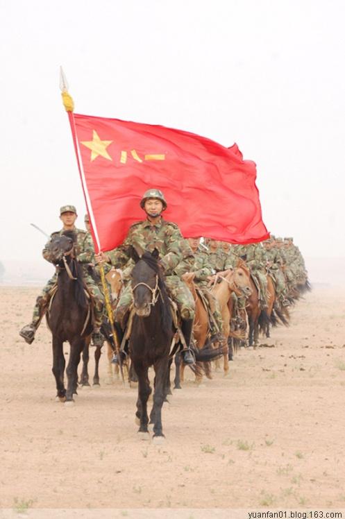 中国最后一支骑兵部队 - 牧笛 - 牧笛 圖文藝術沙龍