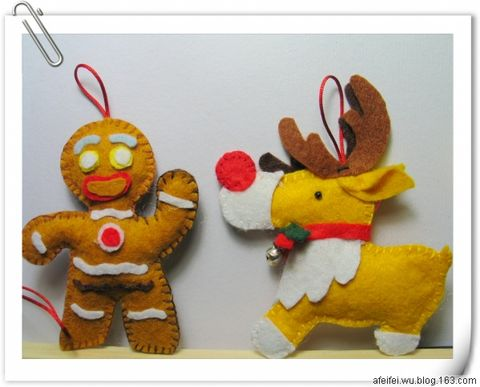 【原创】我家的圣诞树-DIY篇 - 霏霏与卫子 - 帅哥卫和阿霏霏的博客