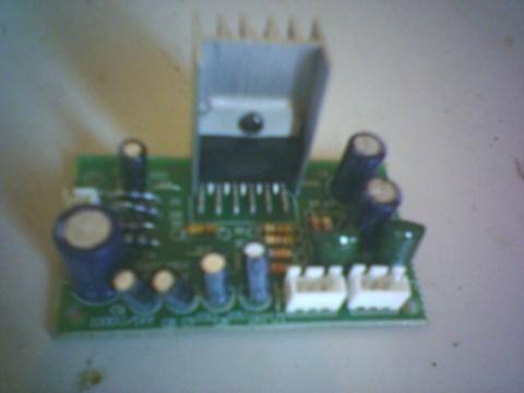 tda2003集成块组成的立体声功放电路15块