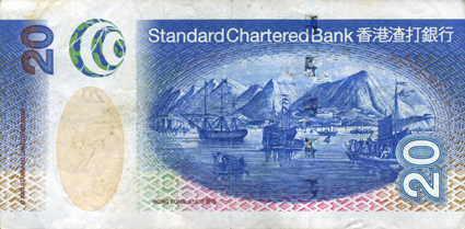 港币设计与印刷技术欣赏(二) - 好好阳光 - 辜居一的博客