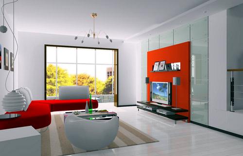 25款绝美客厅样板间 家居装修设计的灵魂(组图)