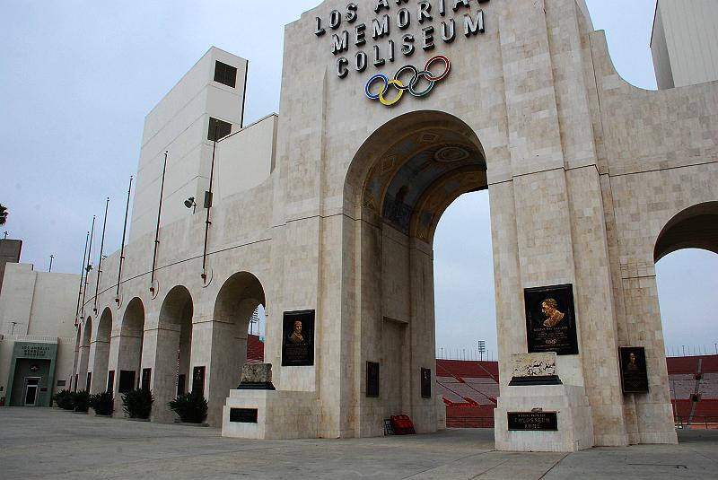 加州阳光(十二)____洛杉矶奥运会旧址 - 西樱 - 走马观景