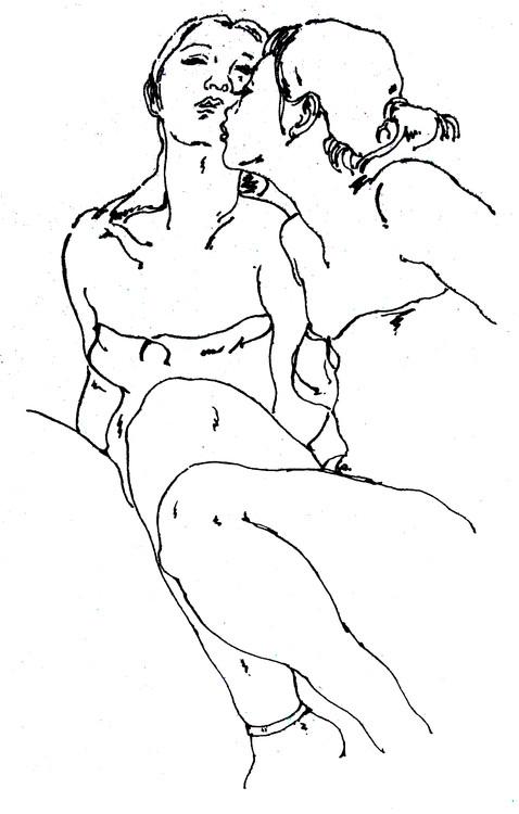 【转载】长年人体画(三) - 长天一色 - chqylang的博客