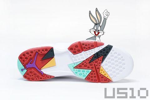 可爱的兔八哥-AIR JORDAN 7 - US10 - US10的鞋子们的故事