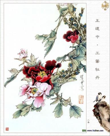 工笔花鸟画 - 静远堂 - 静远堂 JING YUAN