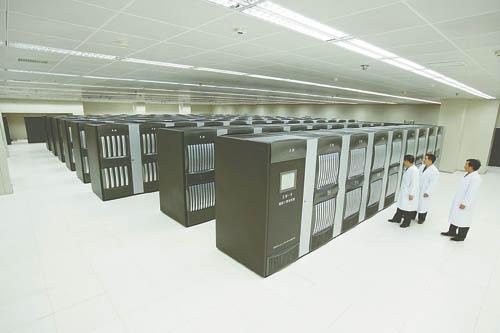 """热烈祝贺国防科技大学的""""天河一号""""诞生 - 老藤 - tengxuyan 的博客"""