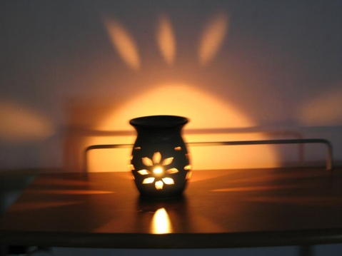 【暗香心语】点亮一盏香薰灯 - 暗香盈袖 - 暗香盈袖