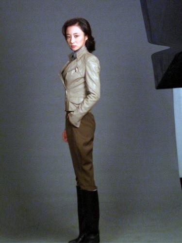 空军大戏《决战长空》之马昕蓝的定妆照 - 李依晓 - 李依晓的博客