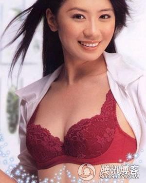 胸部也成为评选美女的重要标准之一