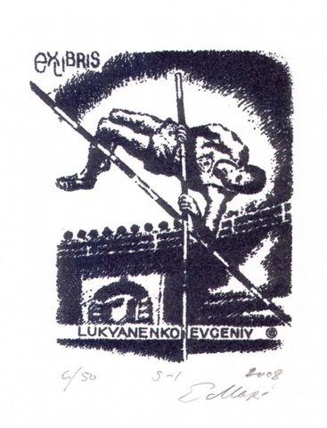 我收藏的外国藏书票 10 - 何鸣芳 - 何鸣芳的版画藏书票博客