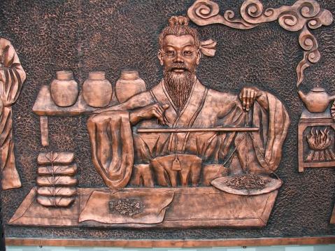 (原创)北京中医学校墙壁浮雕 - 2008zhouwenbo - 周文波的博客