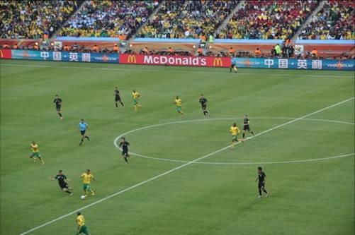 大话南非世界杯上的中国队