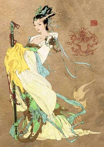 """""""唐马""""郑愁予和背负诗囊的李贺(原创) - li-qy - 烟雨行囊:右岸左人的部落客"""