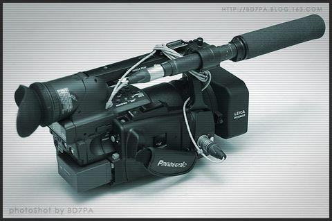 PANASONIC  AG-HVX200MC 使用簡報 - BD7PA - BD7PAのアマチュア無線の専門誌