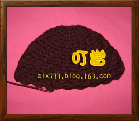 [针编织老太太帽子___送给婆婆的] - 叮当 - 叮当的博客